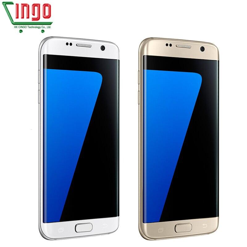 Samsung Galaxy S7 Rand 5.5 ''4GB RAM 32GB ROM Waterdichte Smartphone Een SIM Quad Core NFC 12MP 4G LTE 3600mAh Mobiel - 6