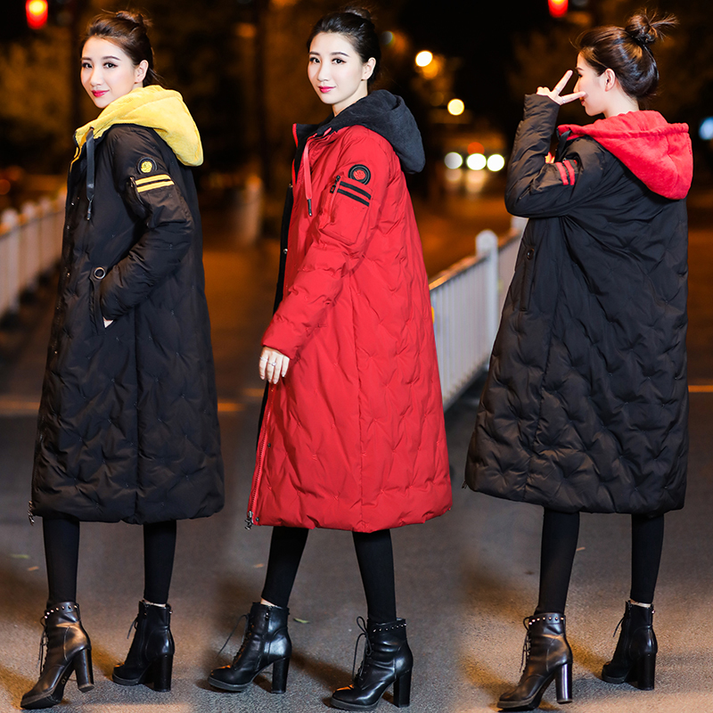 Winter Maternity Coat Warm Pregnancy Clothing Maternity down Jacket Pregnant Women outerwear high quality maternity winter coat down cotton padded down jacket for pregnant women long section outerwear coat hooded pregnancy clothing