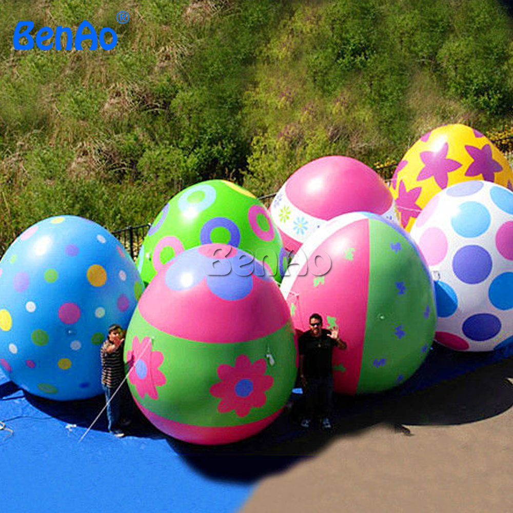 Z127-2 Inflatable ceramic Easter egg,inflatable plastic EASTER egg,Giant Transparent Inflatable Easter Eggs, Egg Shaped Balloons beistle company mens easter egg whirls assorted