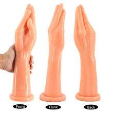 CHGD Fist Dildo big hand dildo large anal plug erotic sex toys suction arm fisting women lesbian masturbate flirting sex shop