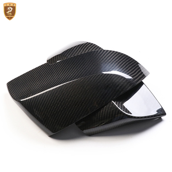 Carbon Fiber Look Rear View Mirror Cover For BMW 3 Series 2013 2014 2015 2016 2017 2018 Add on Style for Car Modified Accessorie