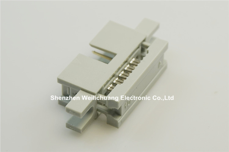 5 Pcs 0.100 2.54mm 10 Pin IDC Type Box header Male Headers 2 rows straight Through hole Flat cable connector with ears 50pcs genuine for starconn pcie connector x16 socket 164pin with 2 rows smd type