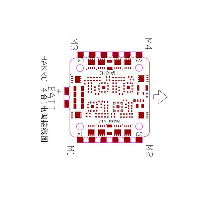 Mini 20A 4in1 ESC (6)