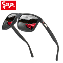 Saylayo Luxury New Men Classic Square Polarized Sunglasses For Driving Outdoor Sports Sun Glasses UV400 Protection