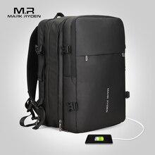 c2630cf97c0b Mark Ryden Man рюкзак подходит 17 дюймов ноутбук USB подзарядка  многослойная космическая дорожная мужская сумка Анти