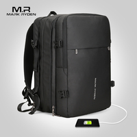 Mark Ryden Man Backpack Fit 17 inch Laptop USB Recharging Multi layer Space Travel Male Bag Anti thief Mochila