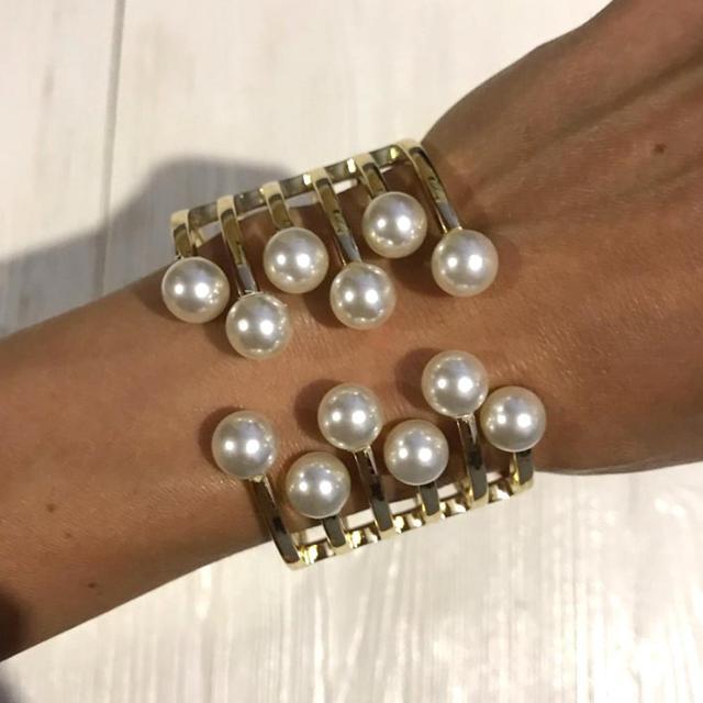 Женские браслеты из искусственного жемчуга