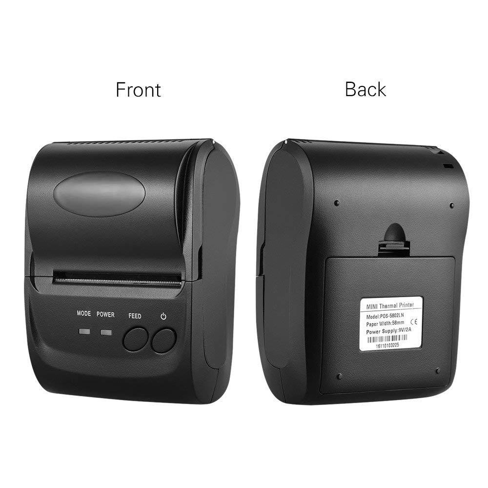 58mm Bluetooth Thermal Receipt POS Printer Portable Android IOS Mini Thermal Printer 58mm Android Mobile POS