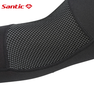 Image 4 - Santic Cycling Arm Warmers Winter Thermal Arm Sleeve Outdoor Sport Basketball Baseball Keep Warm Arm Sleeves Asia S XL W7C09072
