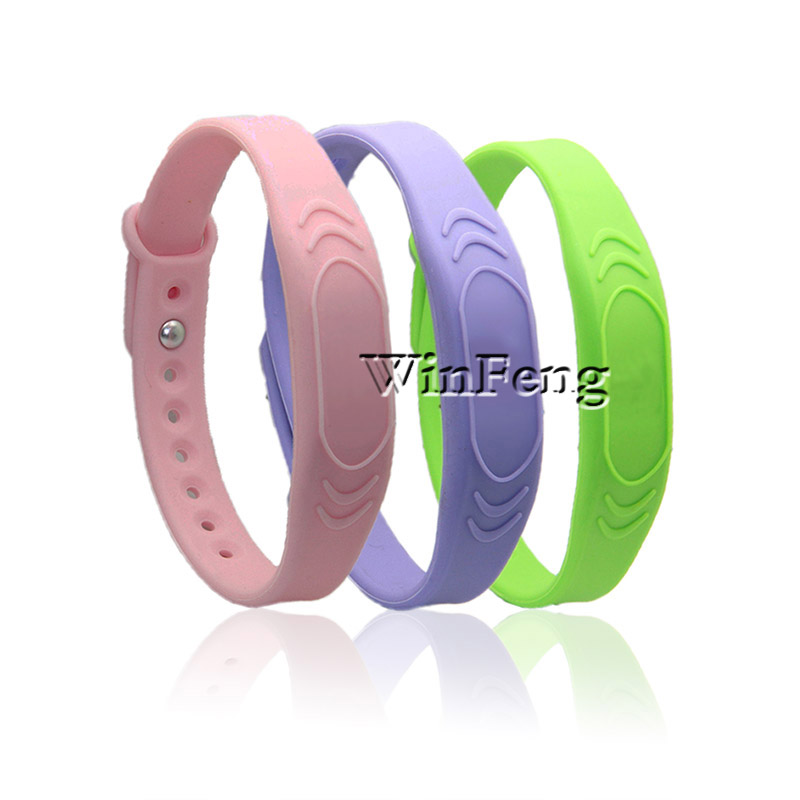 100pcs/lot 13.56mhz Rfid Silicone Wristband F08 Chip Waterproof Rubber Bracelet For Fitness Club And Sports Park Agreeable To Taste Back To Search Resultssecurity & Protection