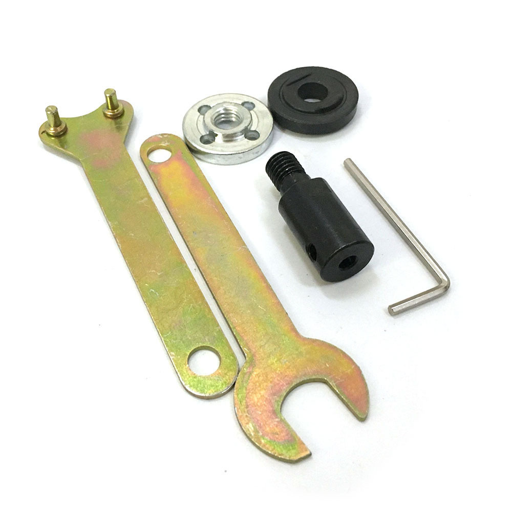 5mm Shank M10 Arbor Mandrel Adaptor Cutting Tool Accessories for Angle Grinder Dril Motor Connecting Rod 5mm 8mm 10mm 12mm shank m10 arbor mandrel connector adaptor cutting tool r25 drop ship