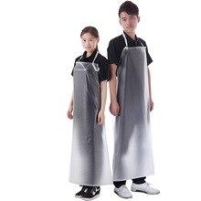 Простой без рукавов кухня Мода взрослых рабочая одежда для мужчин и женщин водонепроницаемый маслостойкие одноразовые фартуки
