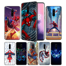 Avengers Thanos Endgame Marvel Soft Black Silicone Case Cover for OnePlus 6 6T 7 Pro 5G Ultra-thin TPU Phone Back Protective