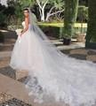 Wedding Accessories Kim Kardashian Bridal Veil 3 Meter Velo Novia Catedral Wedding Veils Long Tulle