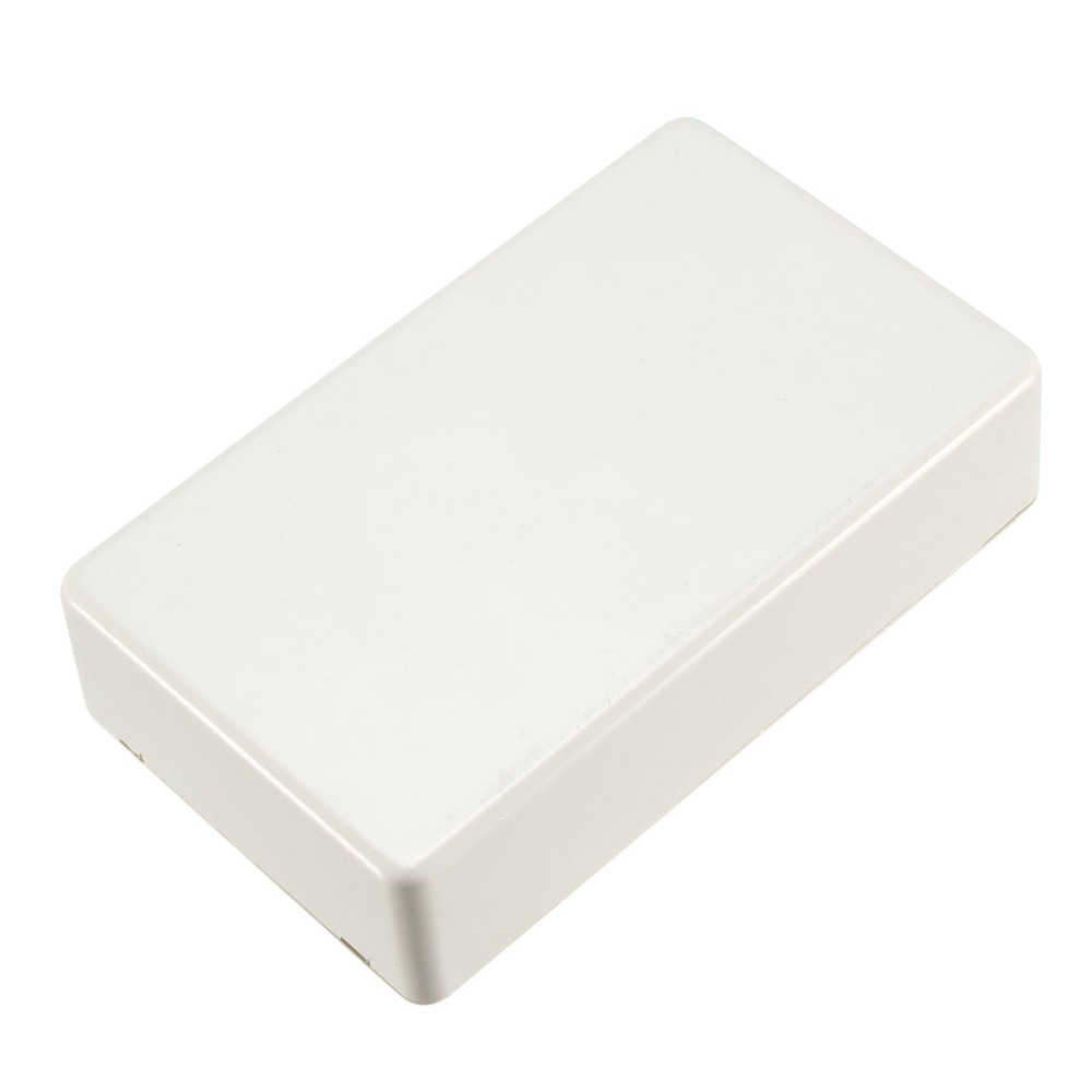 Uxcell 61x36x25mm / 100x60x25mm Size Electronic ABS Plastic DIY Junction Box Enclosure Case White For Measuring Device 1Pcs