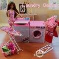Новое прибытие девушки подарок игра игрушка кукла дом Прачечная Центр мебели для куклы барби, кукла аксессуары для барби, девушки подарки