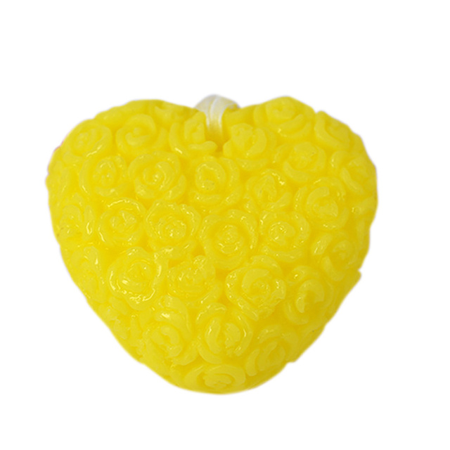 High Quality Handmade Soap Rose Flower Love Heart Shape Whitening Facial Cleaning Wash Hair Bath Skin Care Soaps Dropship