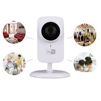 Mini IP WIFI Camera Home Safety Two way Audio Support TF Card CCTV Security Camera Surveillance Monitor V380 S1