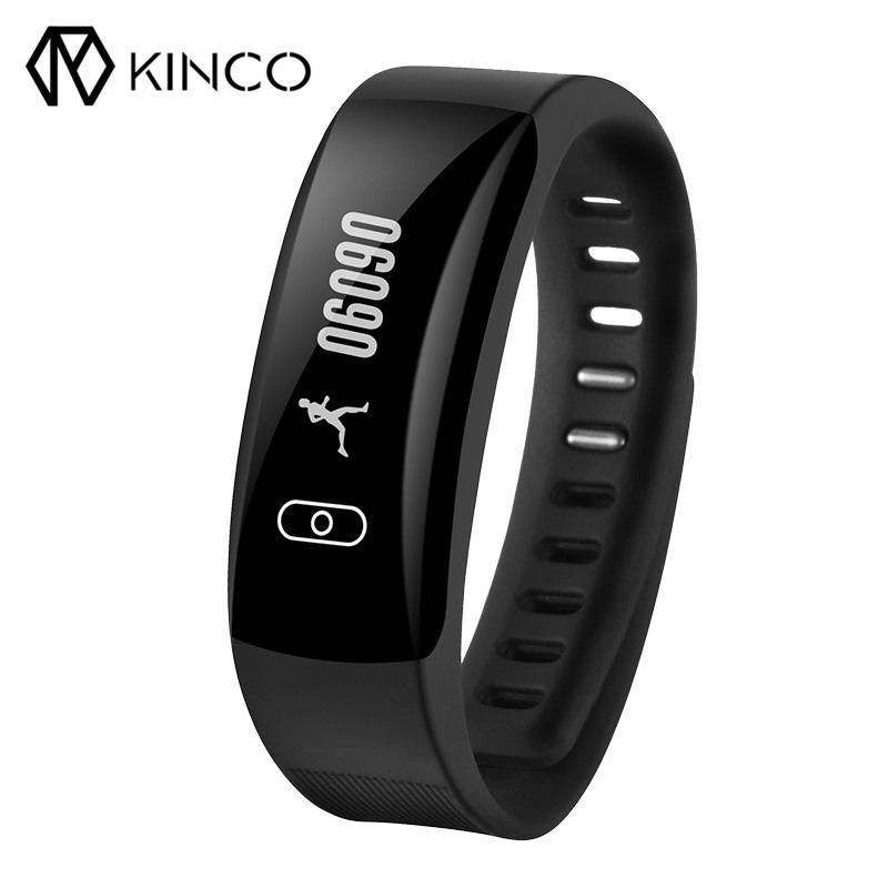 K8 OLED Touch Screen Blood Pressure Heart Rate Monitor IP67 Sport Smart Bracelet for Android IOS