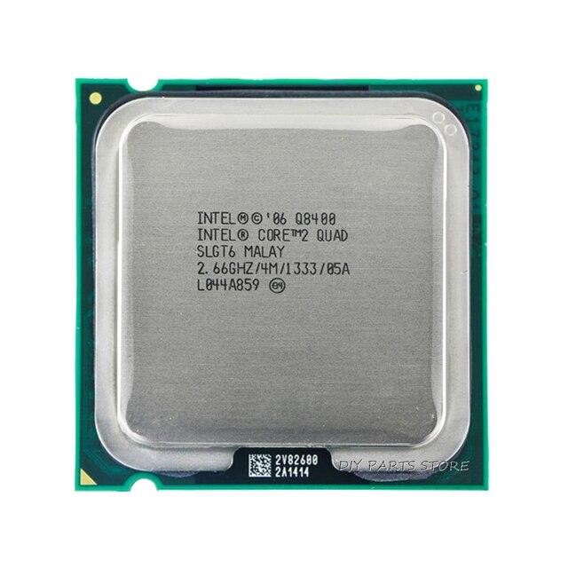4 core INTEL Core 2 QUDA Q8400 CPU Processor 2.66Ghz/ 4M /1333GHz) Socket 775