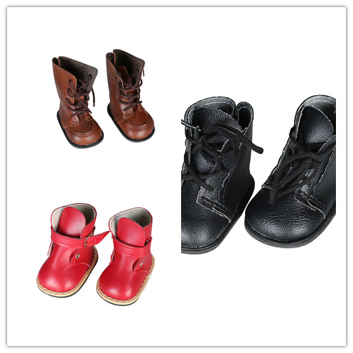 Doll shoes ,3 different leather Boots doll shoes for 18 inch american girl doll for baby gift N412/N411/N418