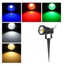 Ландшафтного газон двор распродажа многоцветный прожектор освещения светодиодов сад лампа /