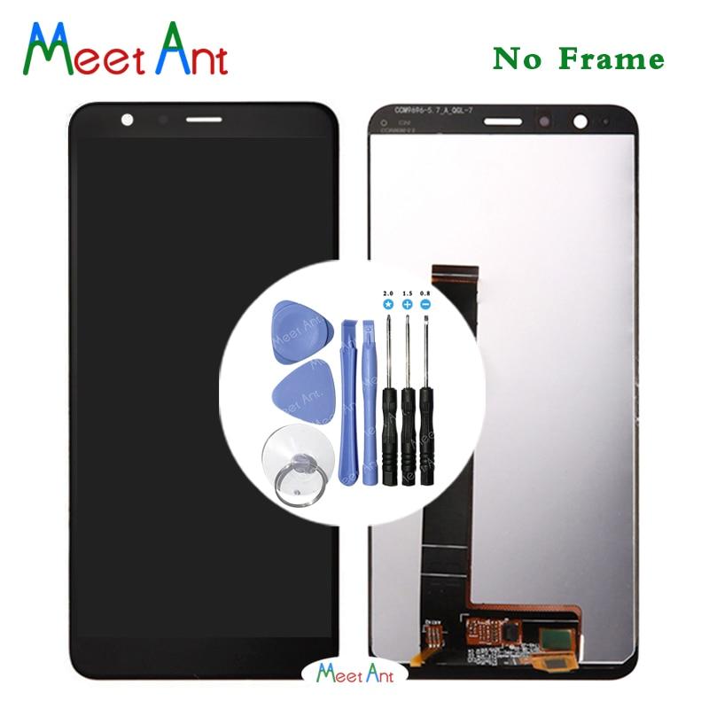Haute qualité 5.7 ''pour Asus Zenfone Max Plus ZB570TL X018DC écran d'affichage LCD avec écran tactile numériseur assemblée + outil