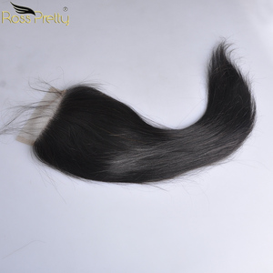 Image 4 - 페루 헤어 번들 클로저 pre prelucked straight hair 레이스 클로저 (번들 포함) human hair extension non remy