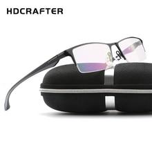 Hdcrafter TR90 очки кадр Титан излучения защиты HD очки Рамка компьютер Очки Для мужчин UV400, очки