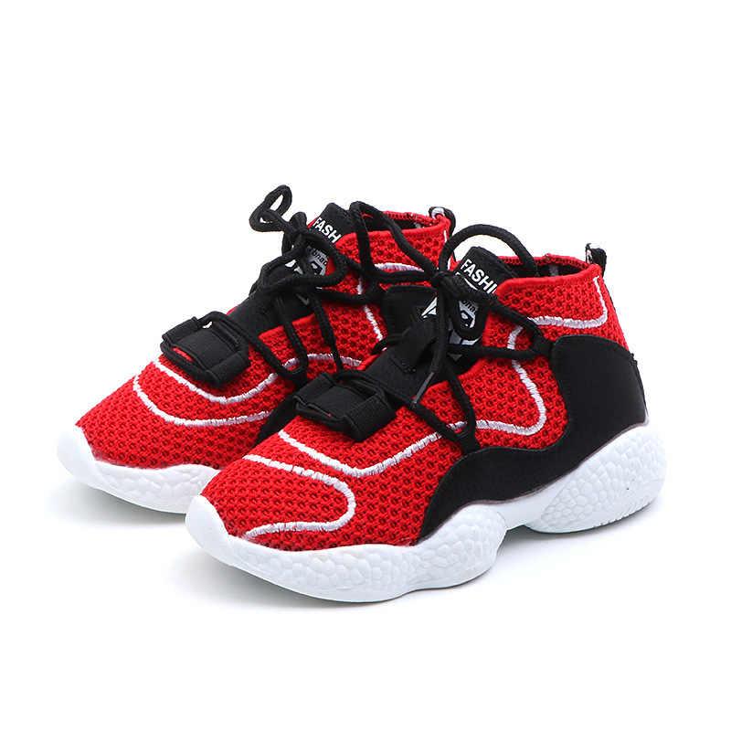 Breathable เด็กรองเท้าผ้าใบแฟชั่นรองเท้าเด็กสีขาวรองเท้า 2019 รองเท้าเด็กรองเท้าเด็กชายหญิงกีฬารองเท้า