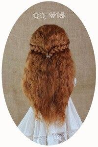 Image 3 - 2020 yeni varış 1/3 1/4 1/6 1/8 Bjd peruk tiftik Sd moda dalgalı saç peruk