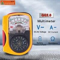 Автоматический диапазон мини карманный цифровой стрелочный мультиметр AC DC Вольт ток Ома тестер диода аналоговый мультиметр