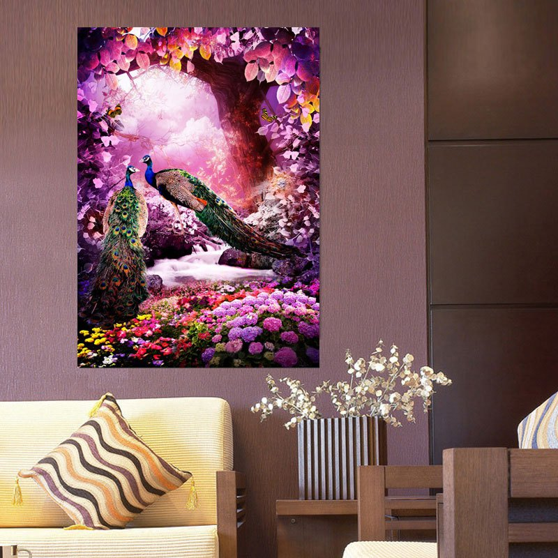 5d diamond embroidery paintings rhinestone pasted diy for Room decor 5d