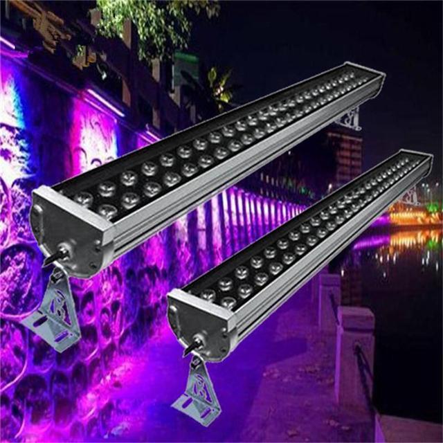 Outdoor LED Wall Washer Lamp Focos 220V Exterior Reflector LED Flood Light  72W Luminaria De Parede