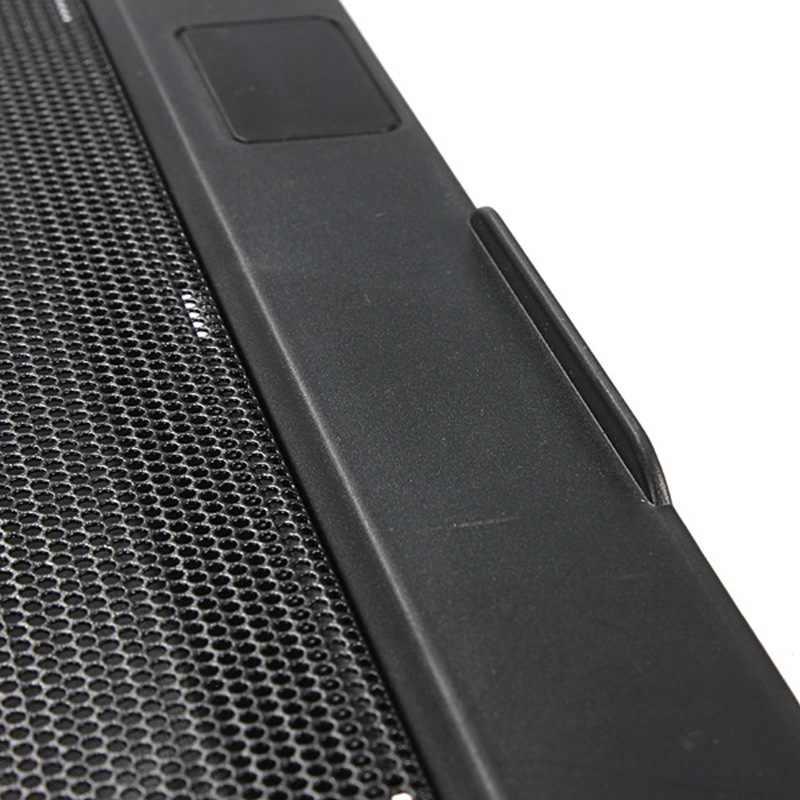 高のqualtiy usbノートブッククーラー冷却ノートパソコンクーラーパッド1ビッグファンノートpc用ベースコンピュータ冷却パッドを強化
