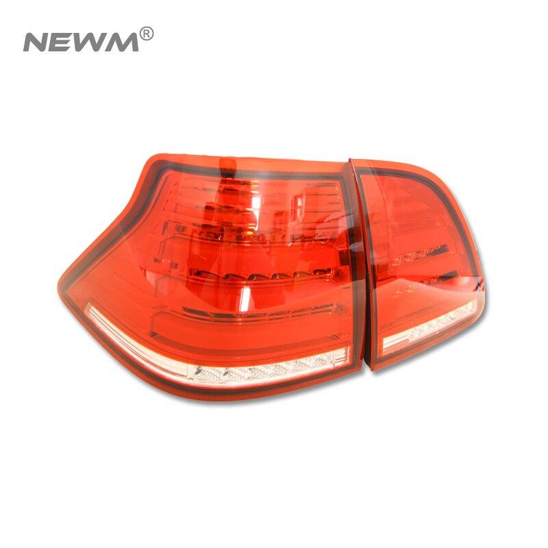 2 шт. светодиодные задние лампы для Toyota Crown S180 (2003 ~ 2008) 3D свет бар светодиодные задние фонари