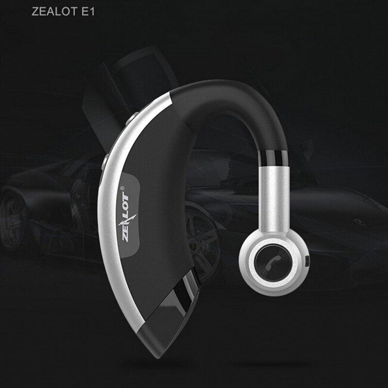Zealot E1 Sans Fil bluetooth casque musique casque de voiture pilote mains libres écouteurs fone de ouvido auriculares avec microphone