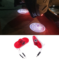 LED Car Door Welcome Light Laser Car Door Shadow Led Projector Logo For VW Golf 4