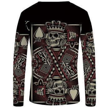 Skull Punk Gothic Funny T Shirts 1