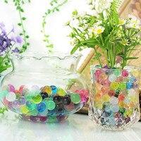 21600 pz/lotto 12 colori Perla A Forma di Terreno di Cristallo Acqua Perline Fango Grow Magia Jelly Balls Home Decor Aqua Soil Commerci All'ingrosso