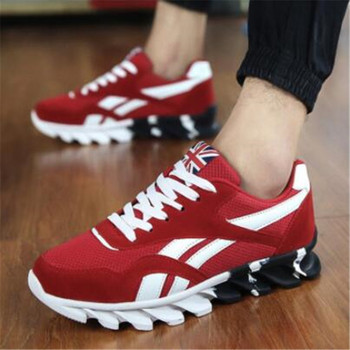 New Spring Autumn Casual Shoes Men Big Size39-46 Sneaker Trendy Comfortable Mesh Fashion Lace-up Adult Men Shoes Zapatos Hombre 1