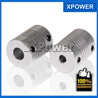 Free Shipping Motor Jaw Shaft Coupler Flexible Coupling OD 19x25mm Shaft Couplings 5x8 Mm And 5