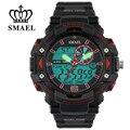 SMAEL Deportes Estilo Moda de Nueva Multifunción de Doble Movimiento de Reloj de Lujo de Los Hombres Clásicos Casual Reloj Digital de pulsera Relogio masculino