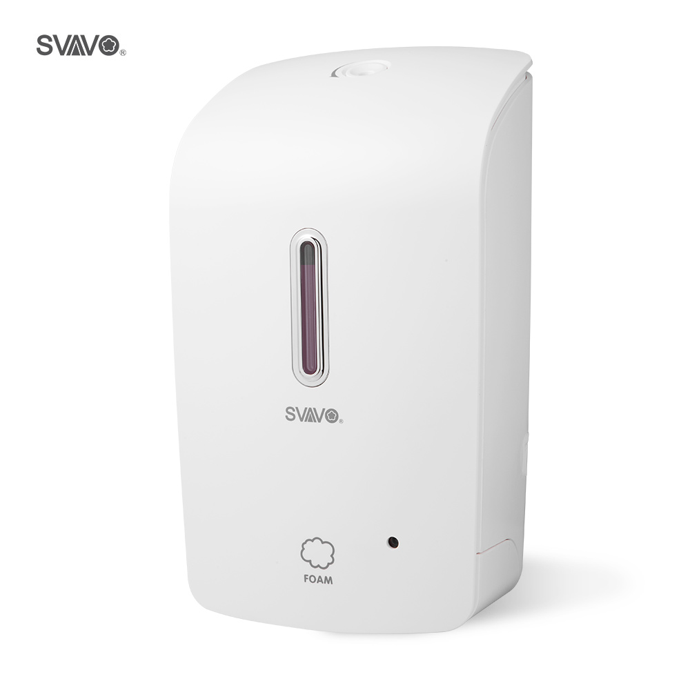 Bathroom Automatic Foam Soap Dispenser 1000ml Wall Mounted Built-in Infrared Smart Sensor Shower Shampoo Foam Soap Dispenser