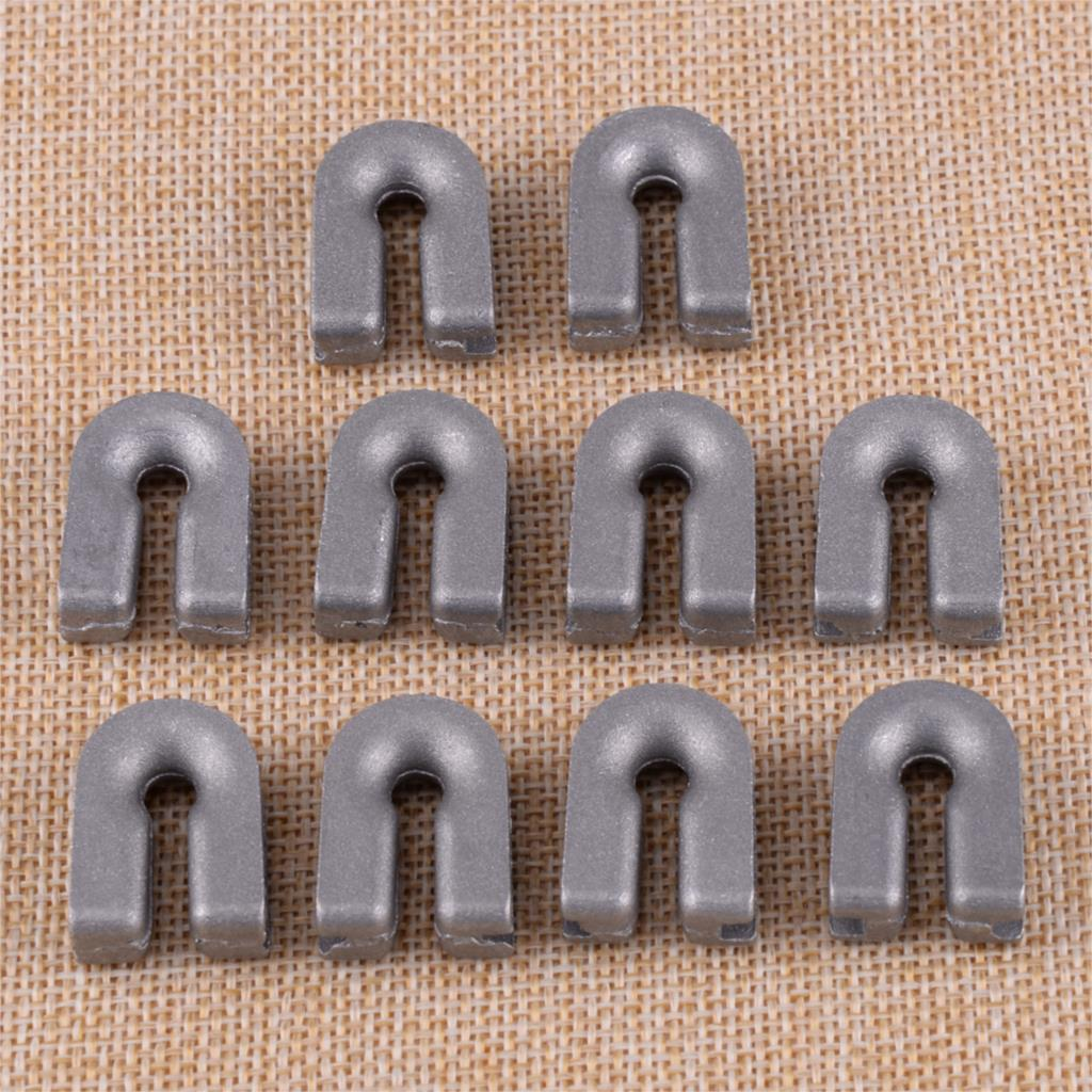 LETAOSK 10pcs Trimmer Head Eyelet 537185902 Fit For HUSQVARNA T35 T25 T35X T45X BUMP Replace