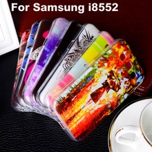Soft TPU Plastic Case For Samsung Galaxy Win I8552 GT-i8552 GT i8550 i8558 8552 4.7 inch Phone Cover Shell Housing
