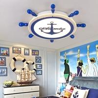 Светодиодный потолочный светильник детская комната современный минималистский мальчик Комната принцессы для девочек лампа мультфильм тв
