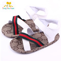 Grande preço de venda new hot sandálias menino e menina de aprendizagem da criança do bebê primeiros sapatos de caminhada sandálias fundo macio lx1