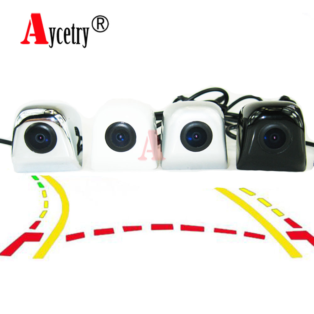Aycetry Dynamic Trajectory Tracks Night vision ccd hd color waterproof Car Rear View