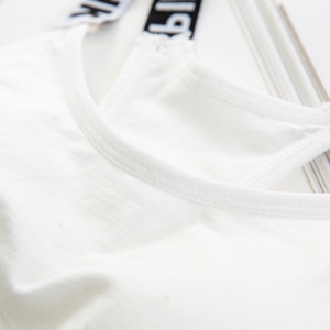 Image 5 - Phụ nữ Crop Top Cắt Độn Bra Tank Top Vest Thể Dục Căng Xe Tăng của Phụ Nữ Workout Bras